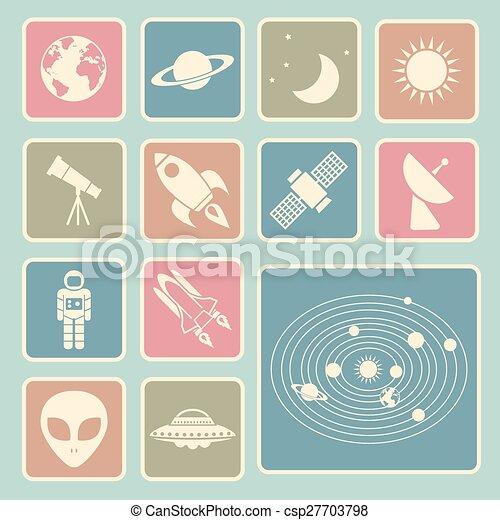 astronomy icon - csp27703798