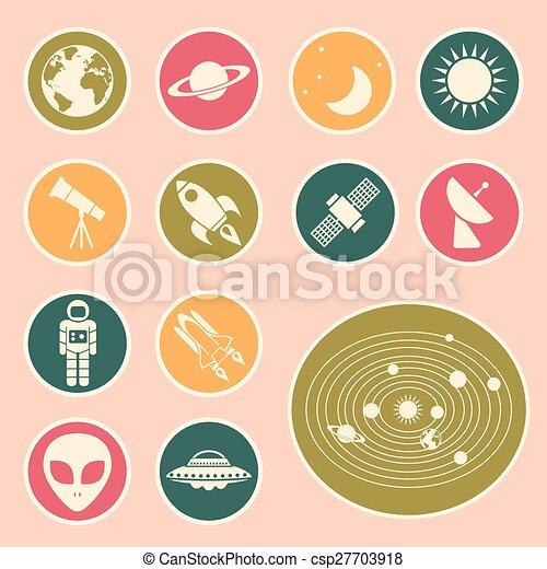astronomy icon - csp27703918