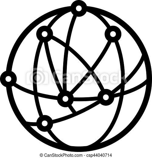 Astronomy logo - csp44040714