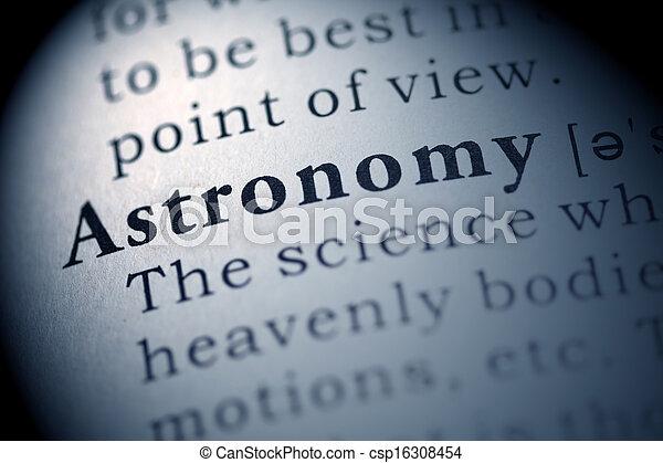 Astronomy - csp16308454