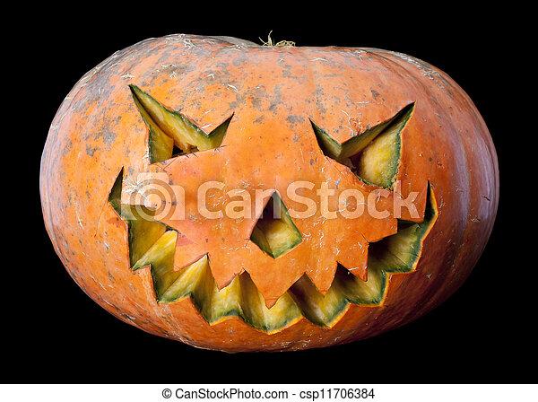 El temible Jack O'lantern - csp11706384