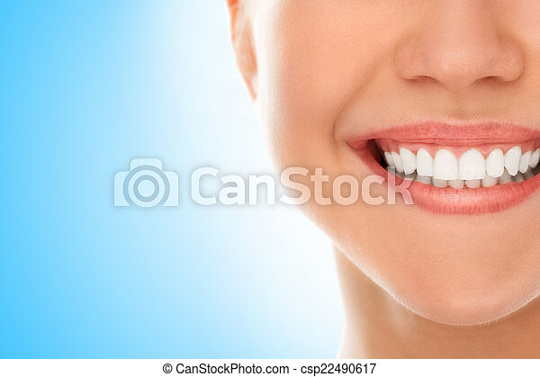 At a dentist with a smile - csp22490617