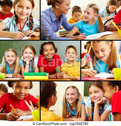 At school - csp7645793