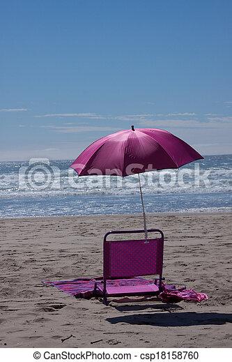 At the Beach - csp18158760