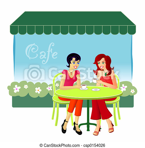 At The Cafe - csp0154026