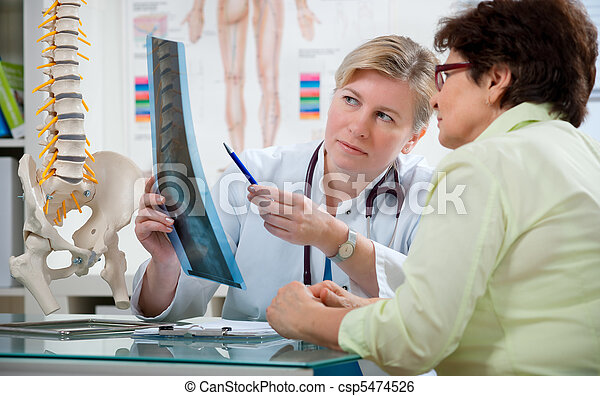 At the doctor's office - csp5474526