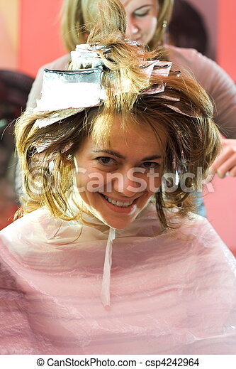 At the hair stylist - csp4242964