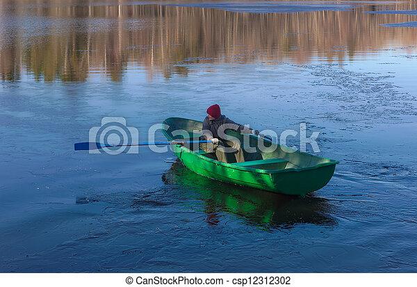 at the spring lake - csp12312302