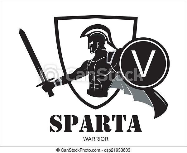 Atacando a Esparta Warrior - csp21933803