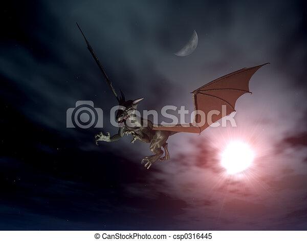 Dragón ataque 2 - csp0316445