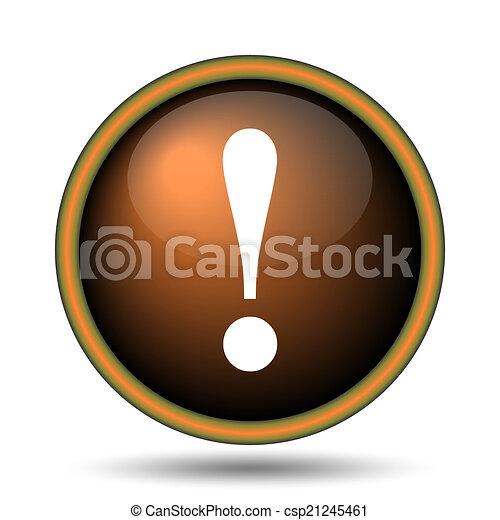 Atención icono - csp21245461