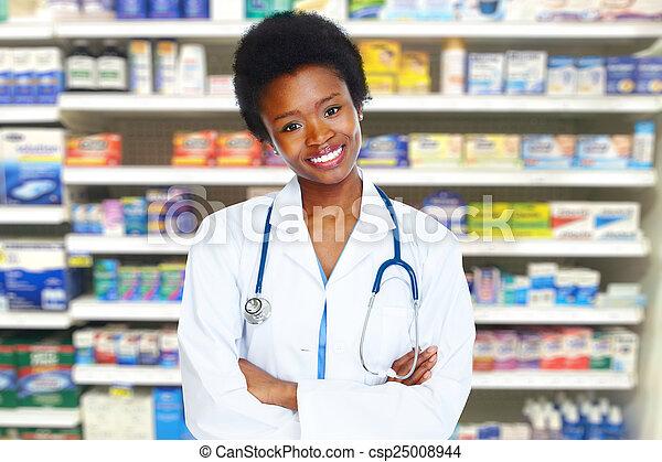Médico de salud. - csp25008944