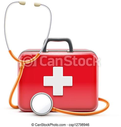 Concepto de asistencia sanitaria - csp12798946