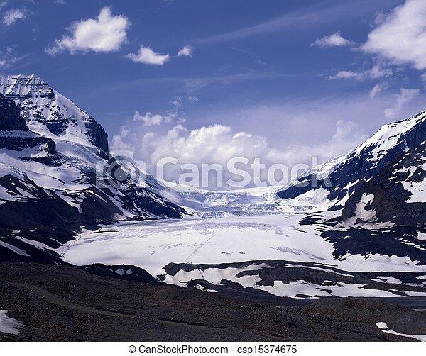 Athabasca Glacier, Canada. - csp15374675