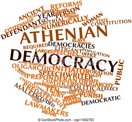 Athenian democracy - csp11942763