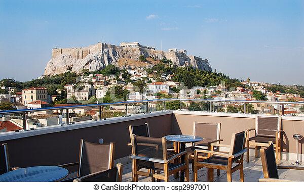 Athens Cityscape - csp2997001