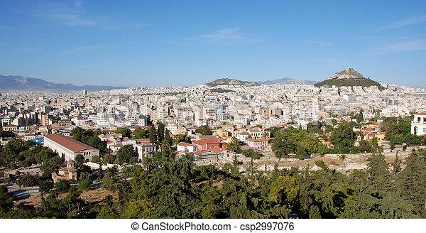 Athens cityscape - csp2997076