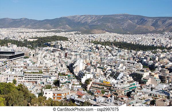 Athens Cityscape - csp2997075