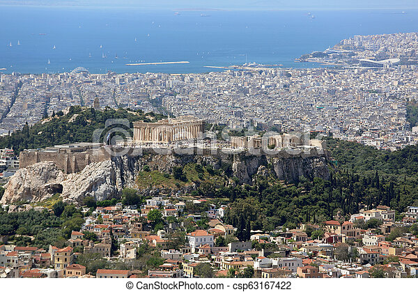 Athens Cityscape - csp63167422