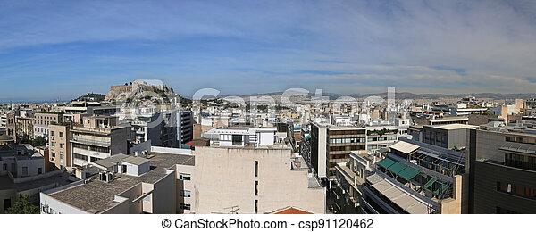 Athens Panorama - csp91120462