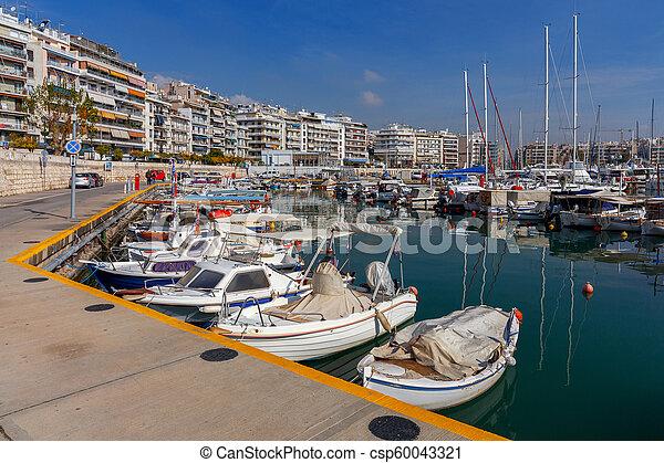 Athens. Port Piraeus. - csp60043321