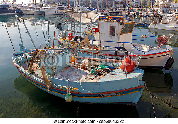 Athens. Port Piraeus. - csp60043322