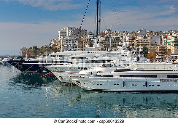 Athens. Port Piraeus. - csp60043329