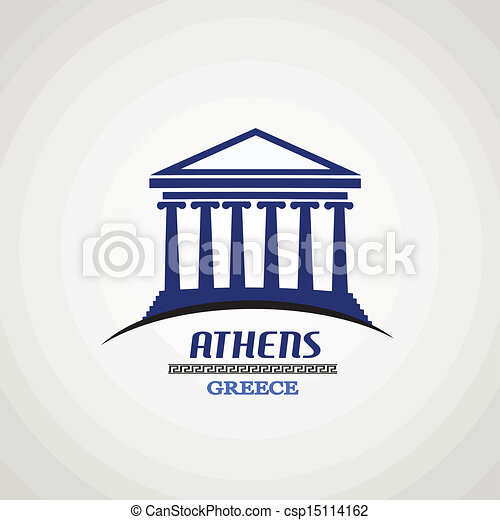 Athens poster - csp15114162