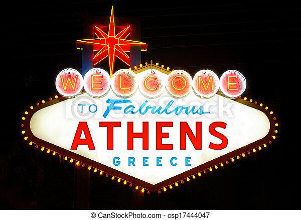 Athens - csp17444047