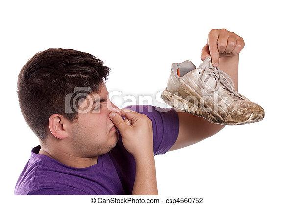 athlétique, malodorant, chaussure - csp4560752