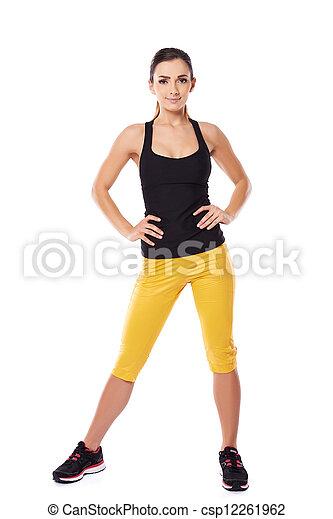 Fit Frau Athlet - csp12261962