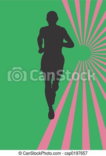 Athlet - csp0197657