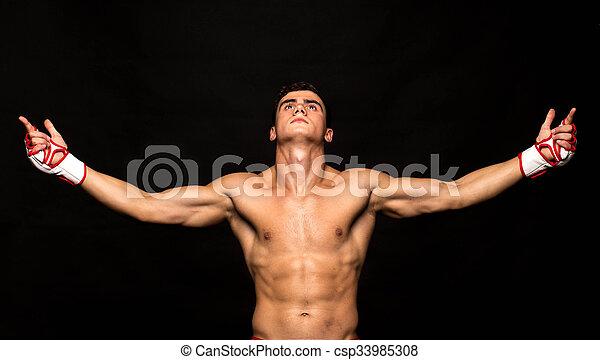 athlete., joven - csp33985308
