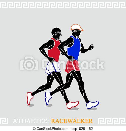 Athlete Racewalkers - csp10261152