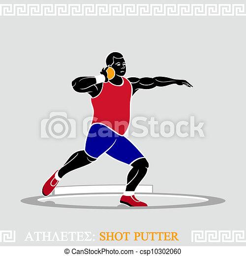 Athlete Shot putter - csp10302060