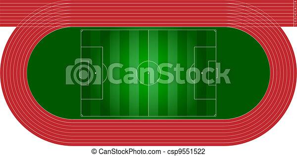 athletics track - csp9551522