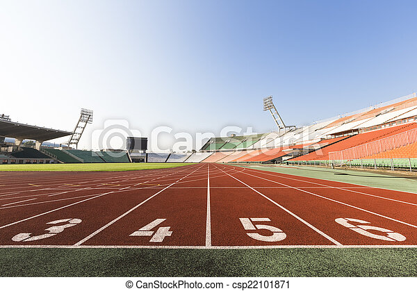 athletics track - csp22101871