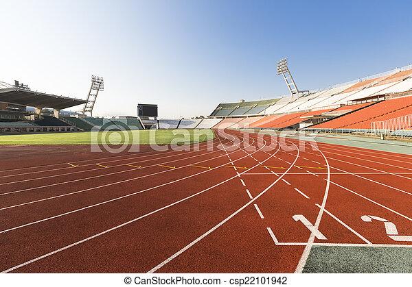 athletics track - csp22101942