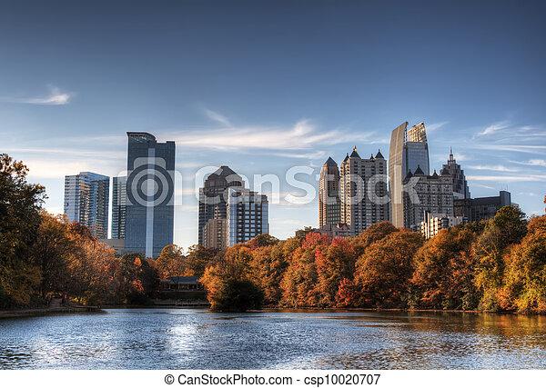 Atlanta From Piedmont Park - csp10020707