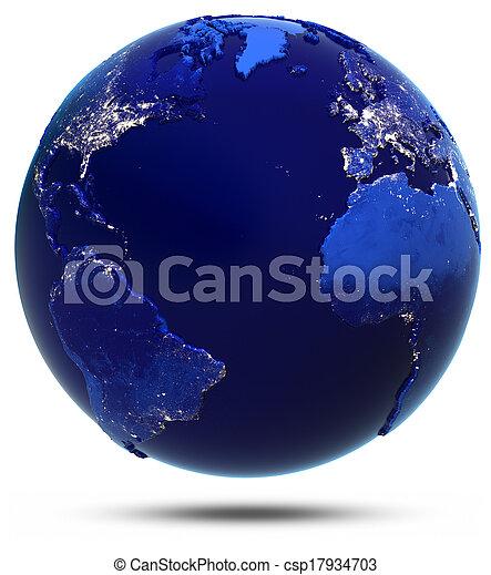 atlanti-, szárazföld, országok - csp17934703