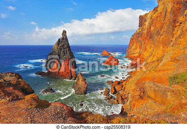 Atlantic island of Madeira - csp25508319