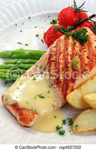 Atlantic Salmon - csp4507202