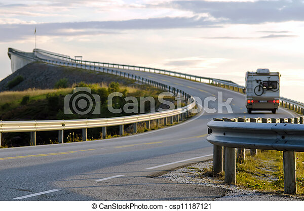 Die Atlantic Coast Road - csp11187121