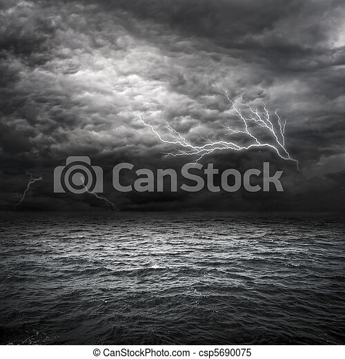 Atlantic Ocean Sturm - csp5690075