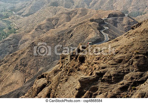 Atlas Berge, Marokko. - csp4868584