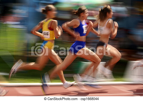 Atleta en competencia - csp1668044