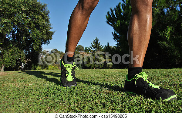 atleta, joven - csp15498205