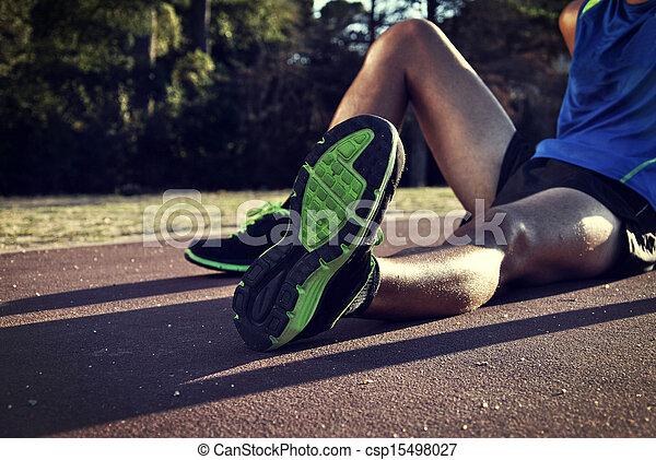 atleta, joven - csp15498027