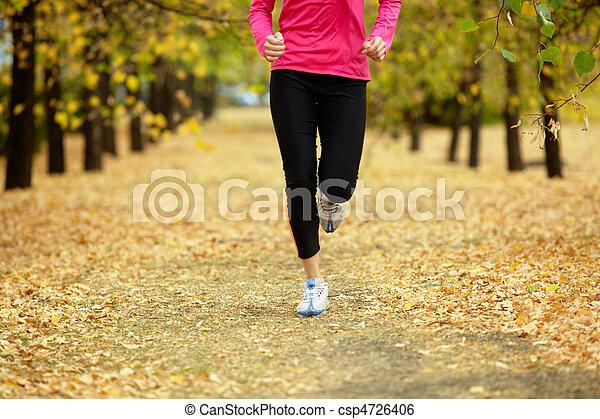 atleta, joven - csp4726406