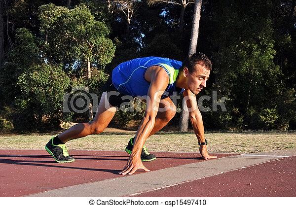 Joven atleta - csp15497410
